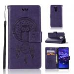 Pouzdro Huawei Mate 20 Lite - lapač snů - fialový