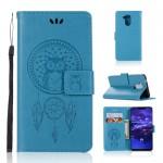 Pouzdro Huawei Mate 20 Lite - lapač snů - modrý