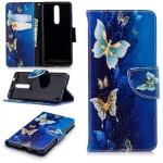 Pouzdro Nokia 5.1 - Motýli 02