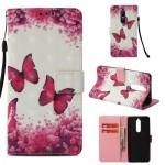 Pouzdro Nokia 5.1 - Motýli 04 - 3D