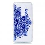 Gelový obal Nokia 5.1 - průhledný - Květ 02