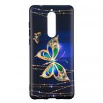 Gelový obal Nokia 5.1 - Motýli 02
