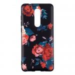 Gelový obal Nokia 5.1 - Květy