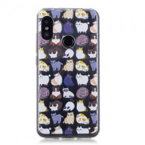 Obal Xiaomi Mi A2 Lite - Kočky