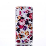 Obal Xiaomi Mi A2 Lite - průhledné - Květy