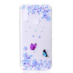 Obal Xiaomi Mi A2 Lite - průhledné - Motýli