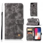 Pouzdro Huawei Y6 2018, Y6 Prime 2018, Honor 7A - šedé