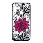 Gelový obal Xiaomi Mi A2 Lite - průhledný - květ 03