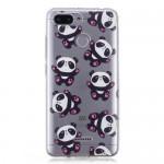 Gelový obal Xiaomi Redmi 6 - Průhledné - panda
