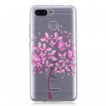 Gelový obal Xiaomi Redmi 6 - Průhledné - strom