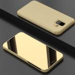 Pouzdro Galaxy A6 2018 - zrcadlové zlaté