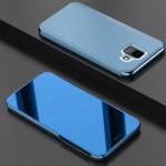 Pouzdro Galaxy A6 2018 - zrcadlové modré