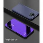 Pouzdro Galaxy A6 2018 - zrcadlové tmavě fialové