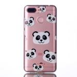 Gelový obal Xiaomi Redmi 6 - Průhledné - Panda 02