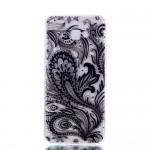 Gelový obal Galaxy J4+ 2018 - Průhledné - Květy 03