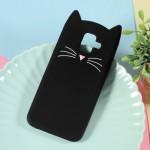 Gelový obal Galaxy A6 2018 - Černá kočka