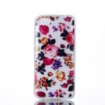 Pouzdro Xiaomi Redmi 6A - průhledné - Květy 01
