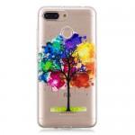Gelový obal Xiaomi Redmi 6 - Průhledné - strom 02