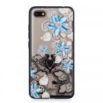 Gelový obal Xiaomi Redmi 6 - Průhledné - Květy 05