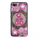 Gelový obal Xiaomi Redmi 6 - Průhledné - Květy 06