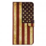 Flipové pouzdro Honor 8X - vlajka USA