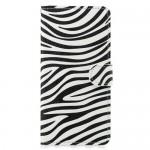 Flipové pouzdro Honor 8X - zebra