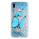 Obal Huawei P20 Lite - mozaika - motýli