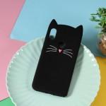 Gelový obal Xiaomi Redmi Note 6 Pro - Černá kočka