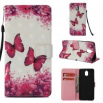 Pouzdro Nokia 3.1 - Motýli - 3D
