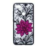 Gelový obal Xiaomi Mi 8 Lite - průhledný - Květ 01