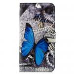Pouzdro Xiaomi Mi 8 Lite - Motýl 04
