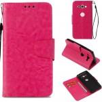 Flipové pouzdro Xperia XZ2 Compact - Tmavě růžové