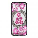 Obal Huawei Nova 3 - průhledný - Květy 04