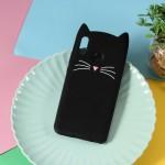 Obal Huawei Nova 3 - černá kočka