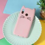 Obal Huawei Nova 3 - růžová kočka