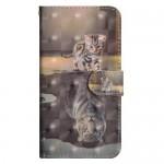 Pouzdro Nokia 5.1 - Kotě a tygr - 3D