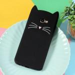 Gelový obal Galaxy J4+ 2018 - Černá kočka