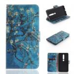 Pouzdro Nokia 6.1 - Květy