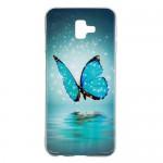 Gelový obal Galaxy J6+ 2018 - Motýli