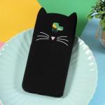 Gelový obal Galaxy J6+ 2018 - Černá kočka