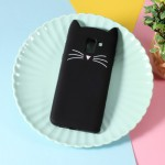 Gelový obal Galaxy J6 2018 - černá kočka