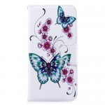 Pouzdro Xiaomi Redmi Note 5 - bílé-motýli 02