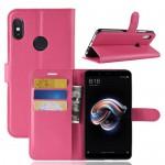 Pouzdro Xiaomi Redmi Note 5 - tmavě růžové