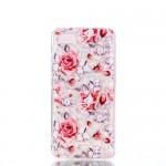Pouzdro Xiaomi Redmi 6A - průhledné - Květy 01 - Mozaika