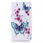Pouzdro Nokia 6.1 - Motýli 01