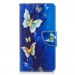 Pouzdro Nokia 6.1 - Motýli 02