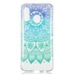 Pouzdro / Obal Galaxy A40 - Průhledné - Mandala 01