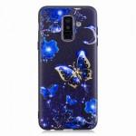 Gelový obal Galaxy A6+ 2018 - Motýli 01