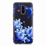 Gelový obal Galaxy A6+ 2018 - Motýli 02