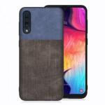 Pouzdro / Obal Galaxy A50 - Jeans 01 - černé